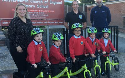 New Partnership Delivers 'Learn to Cycle' Boost for 1000 Lincolnshire Primary School Pupils