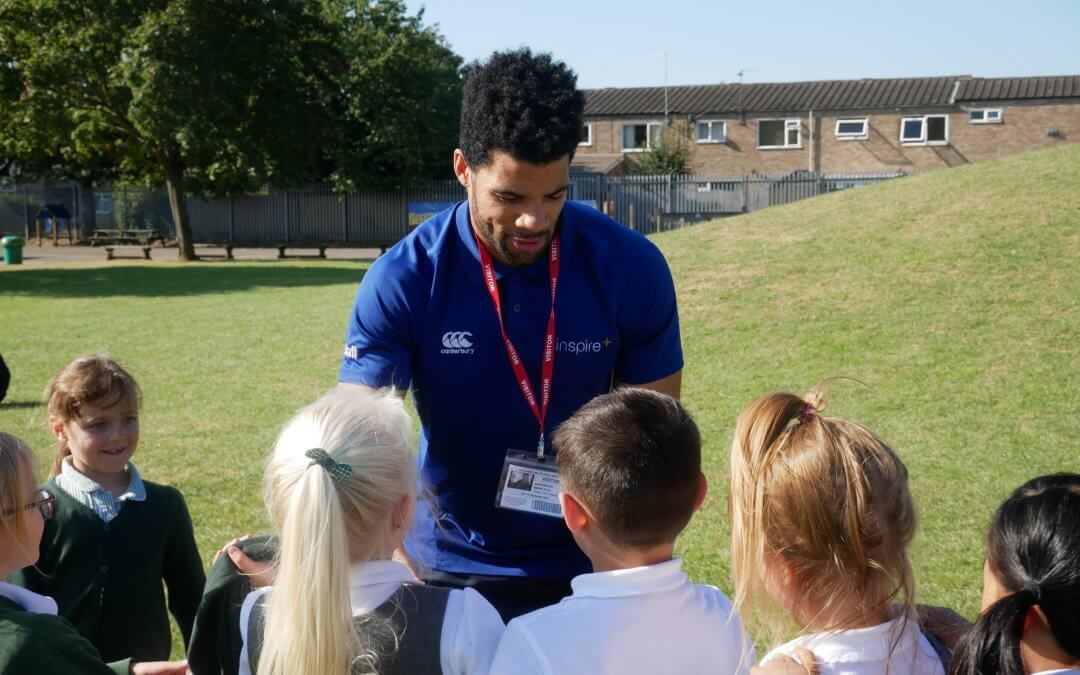 DOUBLE PARALYMPIAN SAM RUDDOCK LAUNCHES THE DAILY MILE AT RAVENSTHORPE PRIMARY SCHOOL