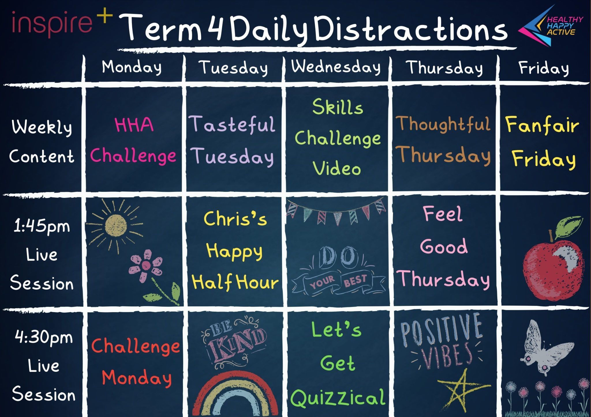 Term 4 Daily Distractions