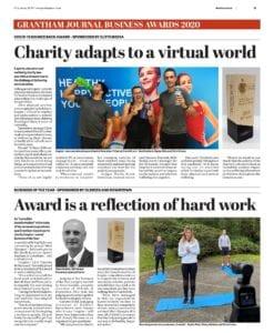 Grantham Journal Article - Inspire+ success